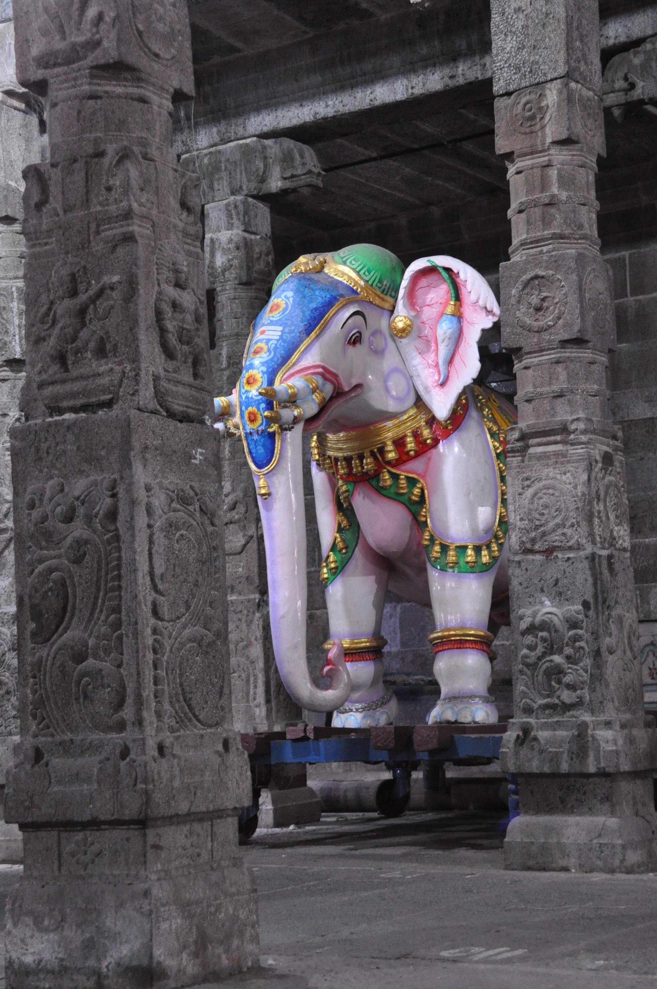 Kanchipuram, ville sainte.