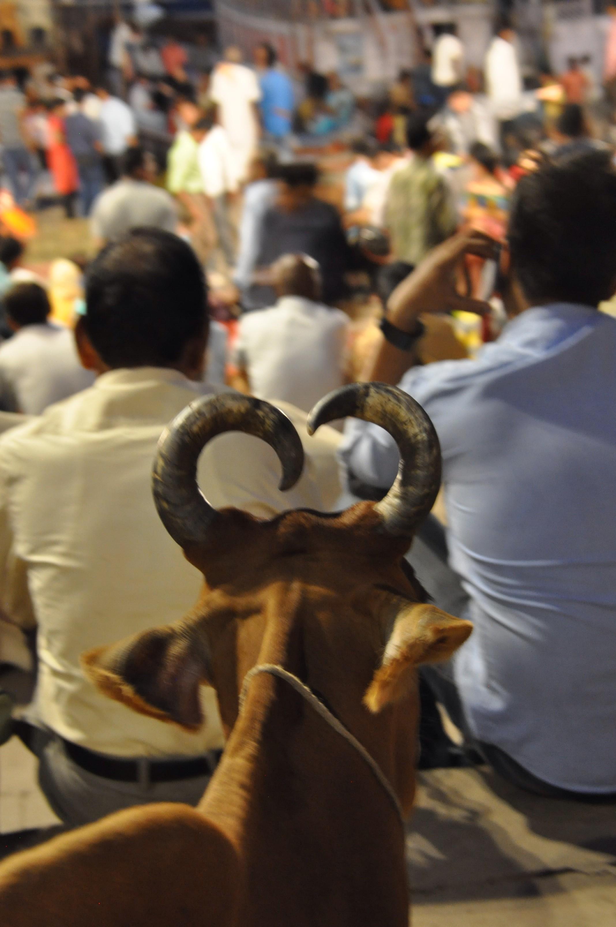 Nuit de prière a Varanasi