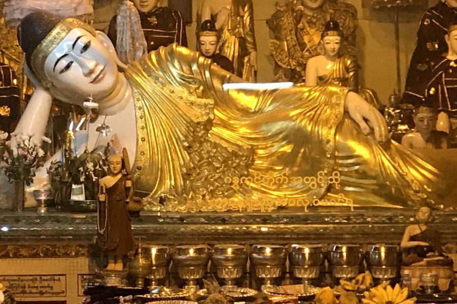 Dany au pays de l'or et des rubis, nous sommes bien arrivés en Birmanie