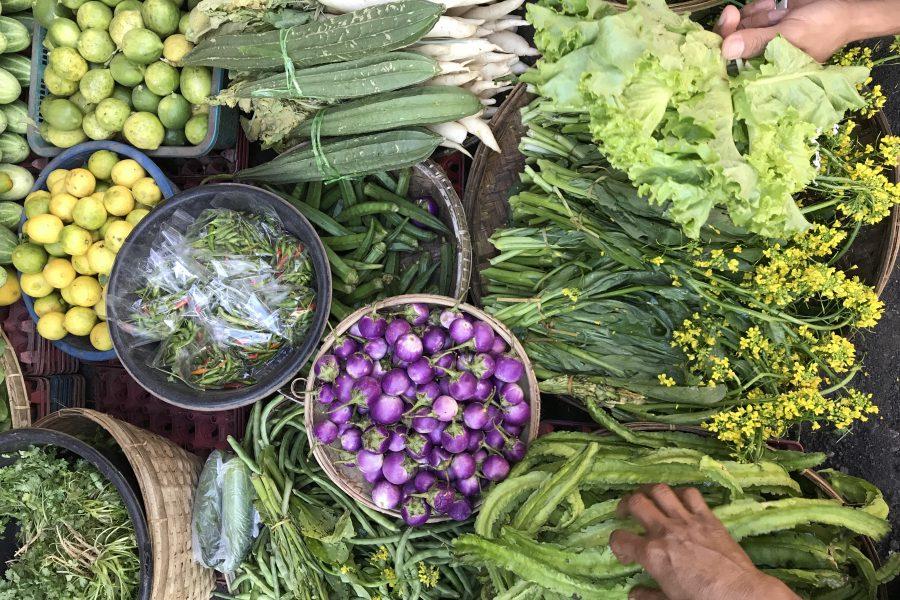 Marchés birmans, fruits, couleurs, saveurs… un régal pour les yeux.