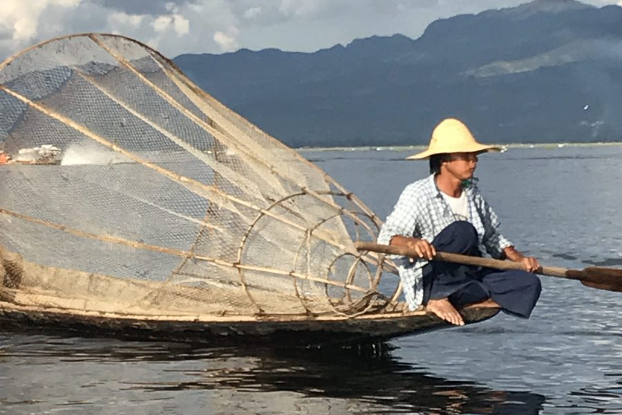 Les pêcheurs de Lac Inlé